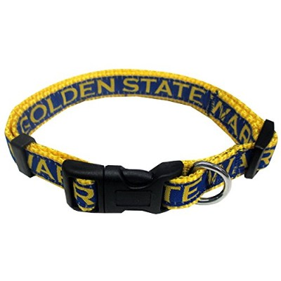Golden State Warriors Dog Collar Medium