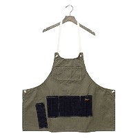 (ナプロン) NAPRON『MAKERS FULL APRON』 (1.KHAKI, FREE SIZE)