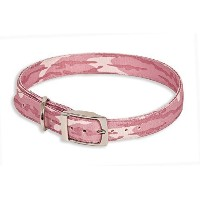 ASPEN PET PRODUCTS 10850 Camo Collar, 1 by 20 to 24-Inch, Pink by ASPEN PET PRODUCTS [並行輸入品]