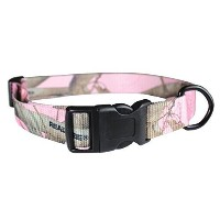 OmniPet Realtree APC Kwik Klip Dog Collars, Pink Camouflage by Nor Pac Pet Products [並行輸入品]