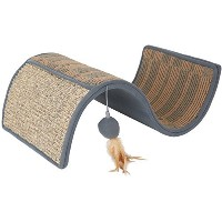 Petlinks Dream Curl Multi-Surface Scratcher with Catnip Toy - Gray by Petlinks [並行輸入品]