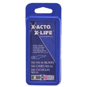 #16 Bulk Pack Blades for X-Acto Knives, 100/Box (並行輸入品)