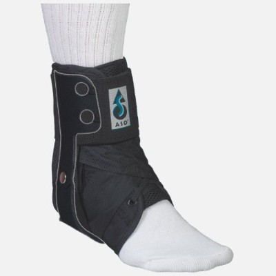 Med Spec ASO Ankle Stabilizer Orthosis Flex Hinge, Black, Large by MedSpec