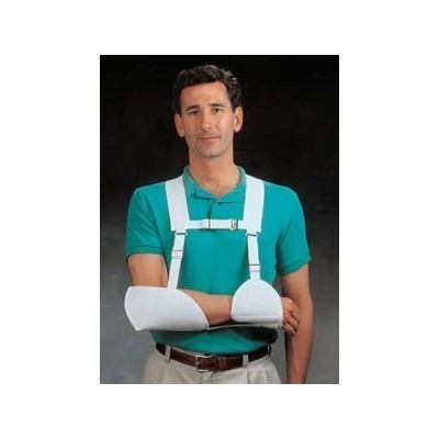 North Coast Medical NC16001-L Harris Hemi Arm Sling White, Left by North Coast Medical