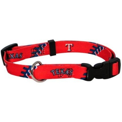 Hunter MFG Texas Rangers Dog Collar, Medium [並行輸入品]