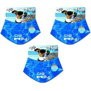 All for Paws Chill Out Ice Bandanas - Small (3 Pack) by All for Paws [並行輸入品]