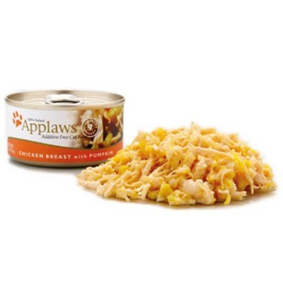 Applaws Chicken Breast and Pumpkin, 24 - 2.47-Ounce Can by Applaws [並行輸入品]