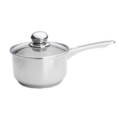 Kinetic Classicor Series Stainless-Steel 3-Quart Saucepan with Lid 29103 by Kinetic