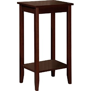 Dorel Home Products coffee brown Tall End Table 並行輸入