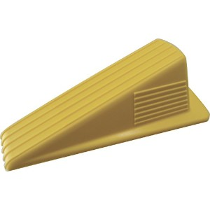 Shepherd Hardware227587Yellow Wedge Door Stop-JUMBO DOOR STOP (並行輸入品)