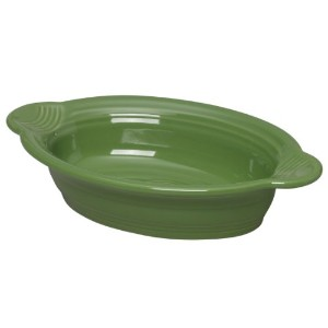 Fiesta 9 Inch by 5 Inch Individual Oval Casserole, Shamrock by Homer Laughlin