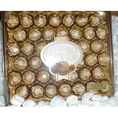 Ferrero Rocher 42 count Box by Ferrero [並行輸入品]