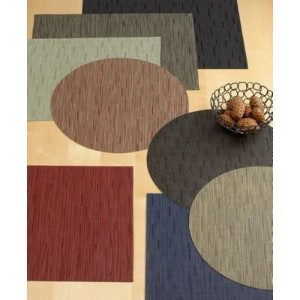 "Chilewich Bamboo Place Mat (19""x14""/Cranberry) by Chilewich [並行輸入品]"