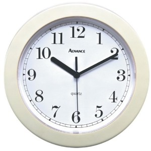 Geneva Clock Company8003Advance Wall Clock-QUARTZ WALL CLOCK (並行輸入品)