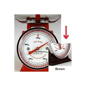 Diet scale(Brown)
