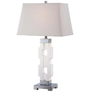 Minka Lavery 1 Light White Table lamp by Minka Lavery