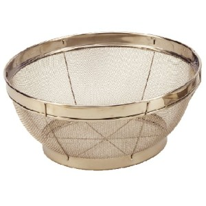 Cook Pro 7-1/2-Inch Stainless Steel Mesh Colander by ExcelSteel