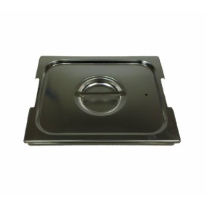 Paderno World Cuisine 20 12 3 / 4インチ× 7 / 8インチstainless-steel Handled Lid forホテルパン – 1 / 1