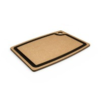 Epicurean Gourmet Series 15-Inch-by-11-Inch Cutting Board with Cascade Effect, Natural with Slate...