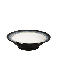Denby Halo Wide Rimmed Soup Cereal Bowl, Set of 4 by Denby