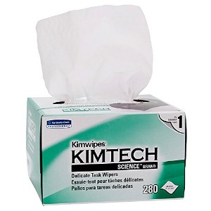 KIMTECH SCIENCE KIMWIPES, Tissue, 4 2/5 x 8 2/5, 280/Box, 30/Carton (並行輸入品)