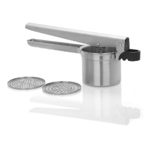Trudeau Stainless Steel Ricer with 2 Blades by Trudeau