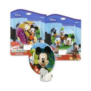 Mickey Night Light ( Assortedスタイル)