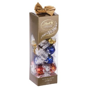 リンツ(Lindt) Lindor Chocolates Assorted Ribbon Box 250g [海外直送] [並行輸入品]
