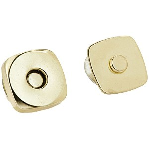 "Square Magnetic Snaps 3/4""-Gilt 2 Pair (並行輸入品)"