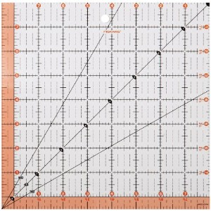 "Fiskars Quilting Ruler-8.5""X8.5"" (並行輸入品)"