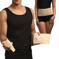 UMBILICAL HERNIA BELT, Abdominal Binder, Navel Truss with Removable Bandage, Medical Support Wrap ...
