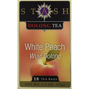 Stash Tea 62959-3pack Stash Tea Oolong White Peach Wuy Tea - 3x18 ct