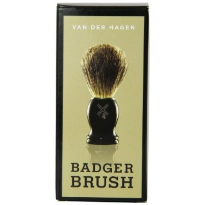 Van Der Hagen Men's Luxury, Badger Brush, 3-Ounce by Van der Hagen [並行輸入品]
