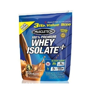 MuscleTech 100% Whey Isolate Plus - Chocolate - 3lbs. by MuscleTech [並行輸入品]