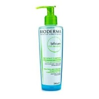 Bioderma Sebium Purifying and Foaming Cleansing Gel (For Combination/Oily Skin) - 200ml/6.7oz by...
