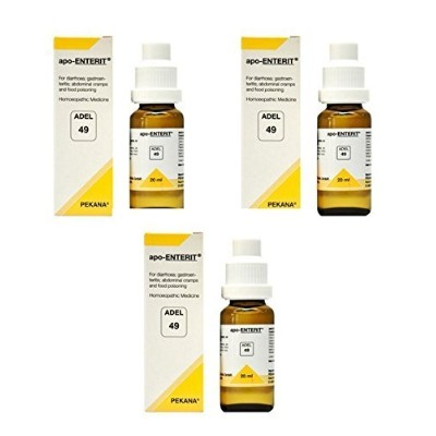 "3 x ADEL GERMANY Adel 49. Apo-enterit ."" Shipping Only By - USPS / FedEX "" [並行輸入品]"