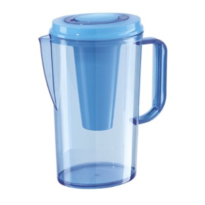 Oggi 7345.5 Party Pitcher with Ice Tube, 2-Liter, Blue by Oggi
