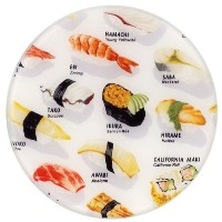 Andreas Silicone Trivet, Sushi, 10 Inch by Andreas