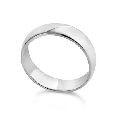 925 Sterling Silver Wedding Ring Band (6)