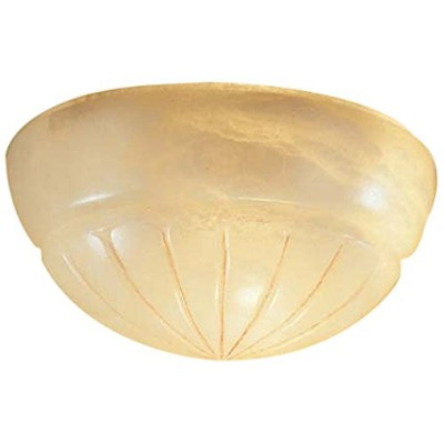 Classic Lighting 7485 CRM Navarra, Alabaster, Sconce/WallBracket, Cream by Classic Lighting