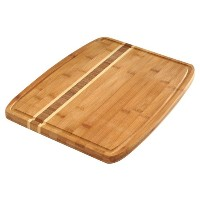 Norpro 16-Inch by 12-Inch Bamboo Cutting Board with Juice Catching Groove by Norpro