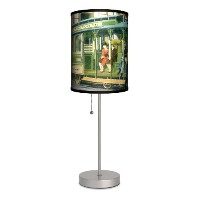 Travel - Powell and Market Postcard Sport Silver Lamp by Lamp-In-A-Box