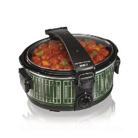 【並行輸入】Hamilton Beach 33462 Stay or Go Portable Slow Cooker, 6-Quart スロークッカー