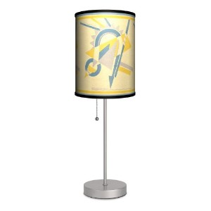Dcor Art - Magnet Sport Silver Lamp by Lamp-In-A-Box