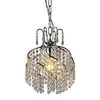 Whse of Tiffany RL1007 Catherine Crystal Chandelier by Whse of Tiffany