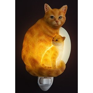 Ibis & Orchid Tabby Cat Night Light ( 50185 )