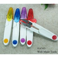 HAND Thread Snips with Protective Cover by Well Made Tools