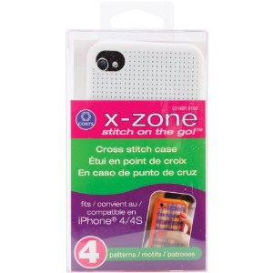 iPhone 4 Case Counted Cross Stitch Kit-White (並行輸入品)