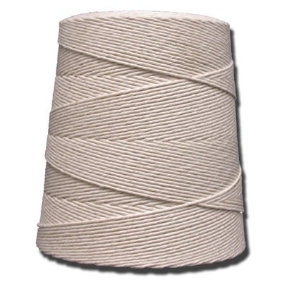 T.W. Evans Cordage 07-100 10 Poly Cotton Twine with 2.5 Pound Cone with 4750 ft.