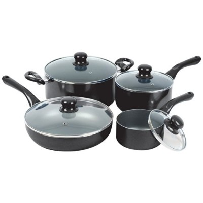 8PC COOK SET BLACK